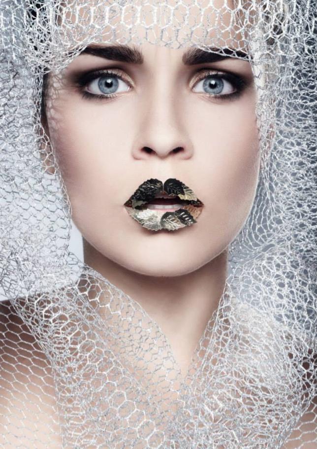 Makeup - Ľudmila Piptová, foto - Lucia Humer, model - Sára